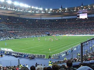 The Stade de France, where one of the Friday the 13th attacks took place.