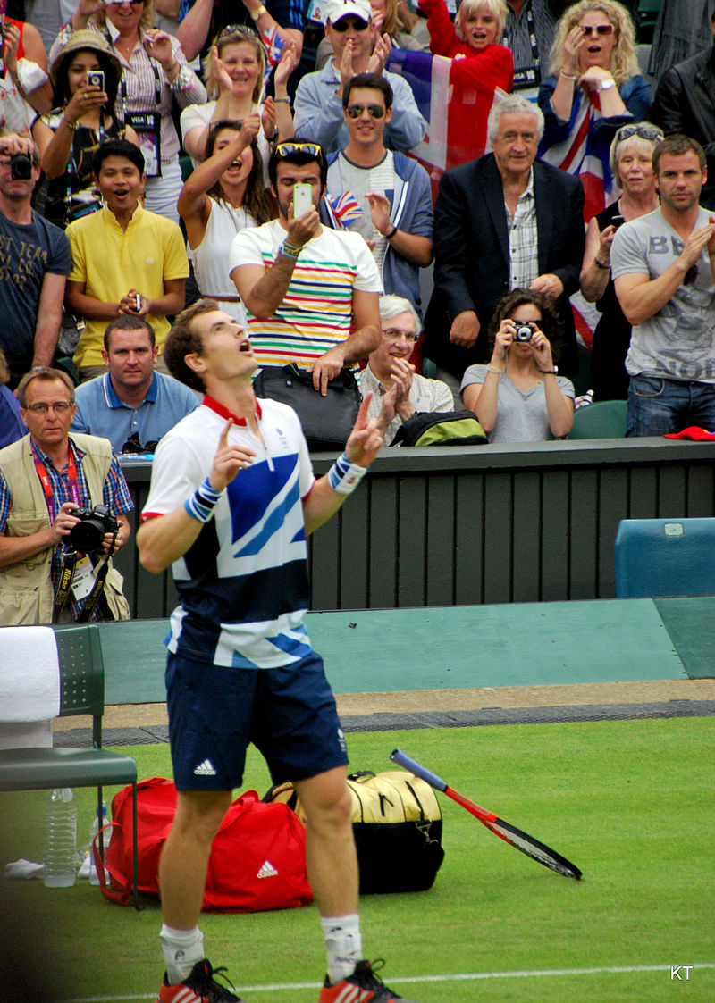 Andy Murray – seen here in his victory gesture at the 2012 Olympics – has added the Davis Cup to his impressive résumé.