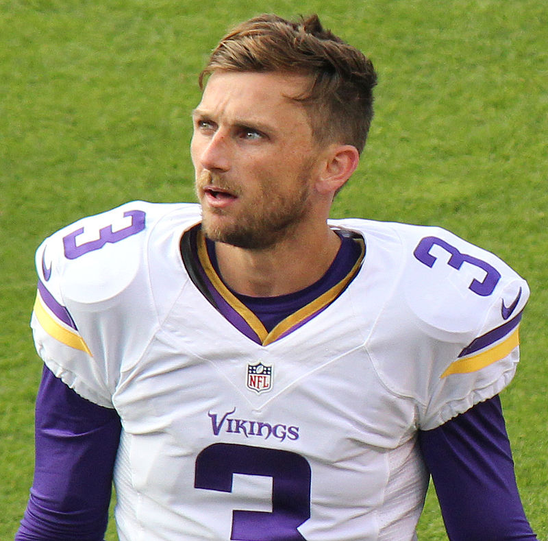 Blair Walsh: Was his missed field goal in the Vikings' loss to the Seahawks an example of the Magnus effect? Photograph by Jeffrey Beall.