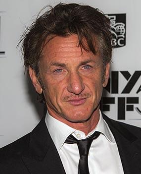 Sean Penn at the 2013 New York Film Festival. Photograph by Sachyn Mita