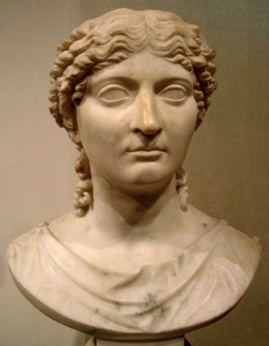Agrippina the Younger, mother of Nero, first-century marble, National Museum of Warsaw.