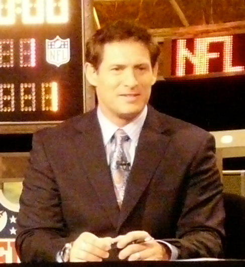 Steve Young in 2009. Detail of a photograph by Marianne O'Leary.
