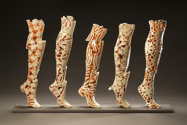 """Strip and Dismantle"" by Mari Ogihara. Courtesy: ArtsWestchester."