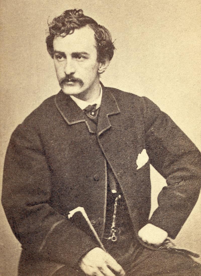 John Wilkes Booth by Alexander Gardner, circa 1865