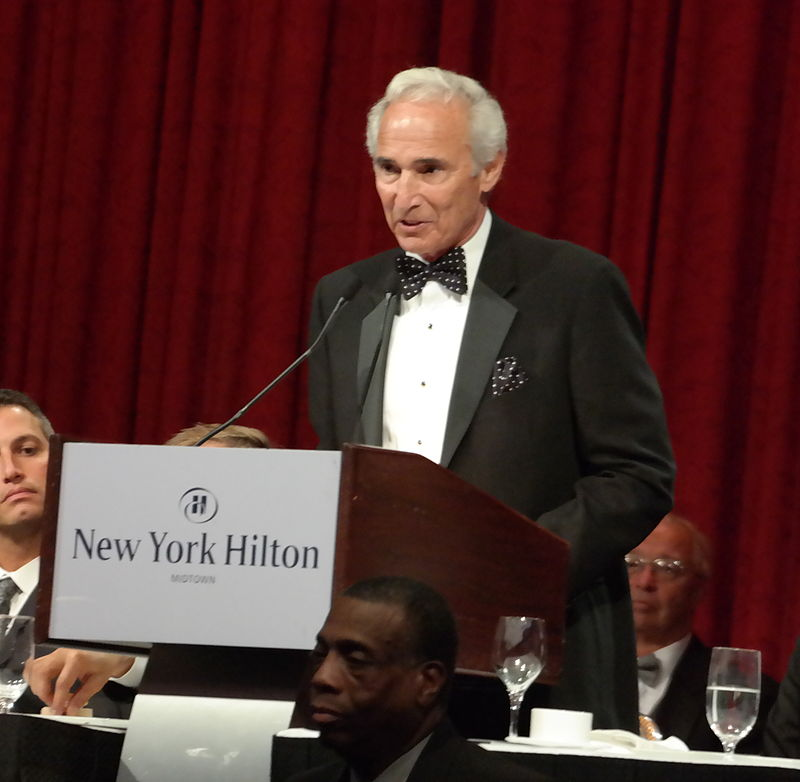 Sandy Koufax at the Baseball Writers' Association of America dinner in 2014. Photograph by Arturo Pardavila III.