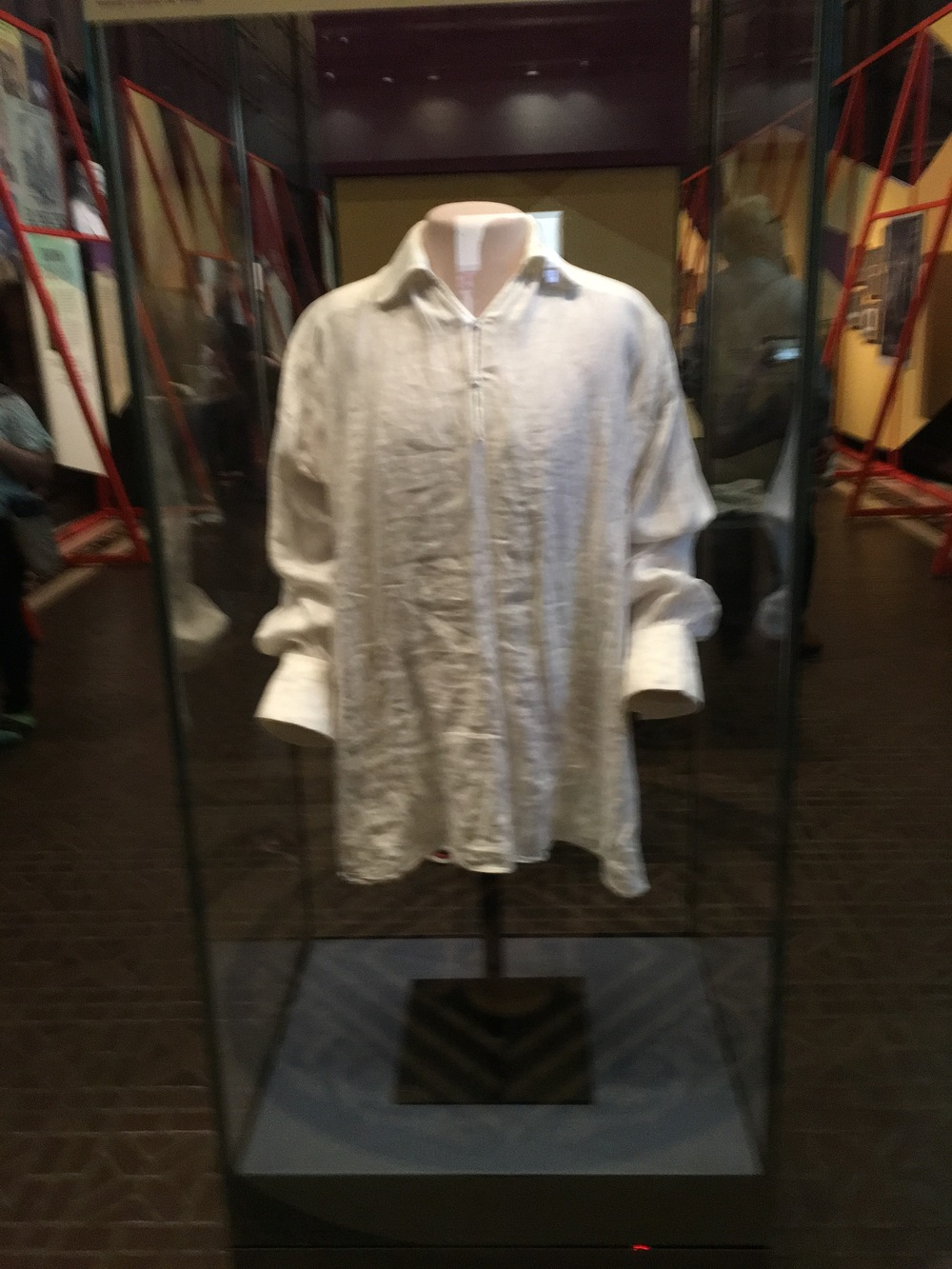 """The Shirt"" at the Folger Shakespeare Library"