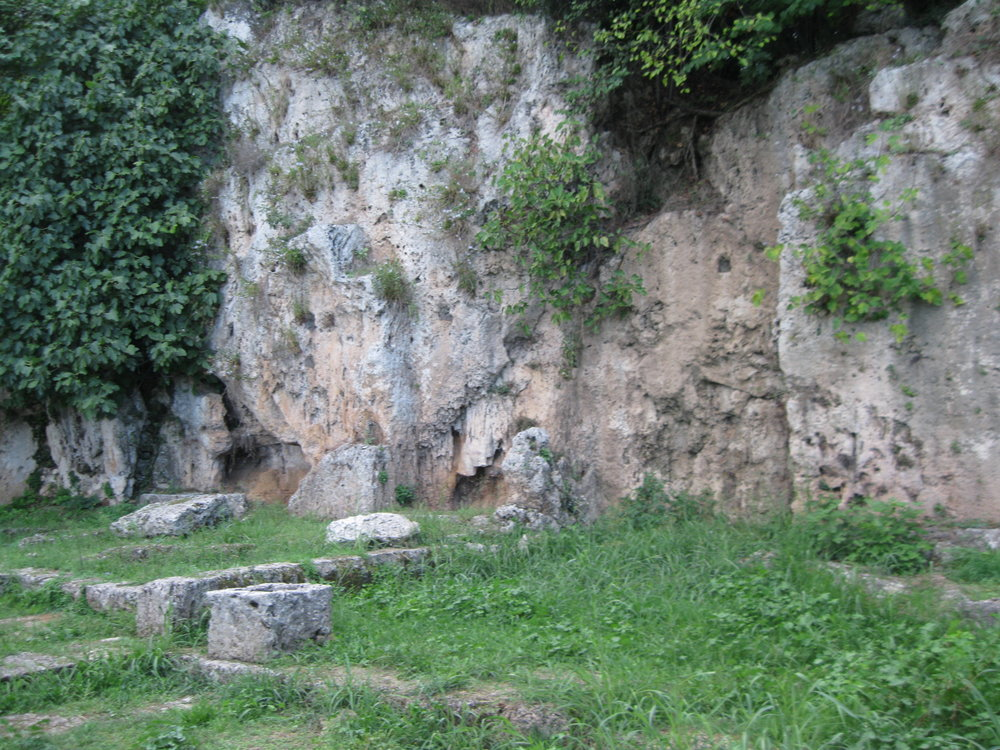 The Garden of Mieza, where Aristotle taught Alexander the Great and his Companions.
