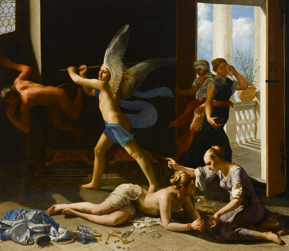 "Guido Cagnacci's ""The Repentant Magdalene"" (circa 1660-63), oil on canvas. Norton Simon Art Foundation, Pasedena."