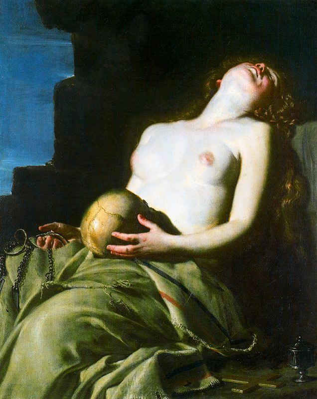 Another Guido Cagnacci view of Mary Magdalene