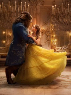 "Dan Stevens as the Beast and Emma Watson as Belle in ""Beauty and the Beast."" Images courtesy Walt Disney Pictures."