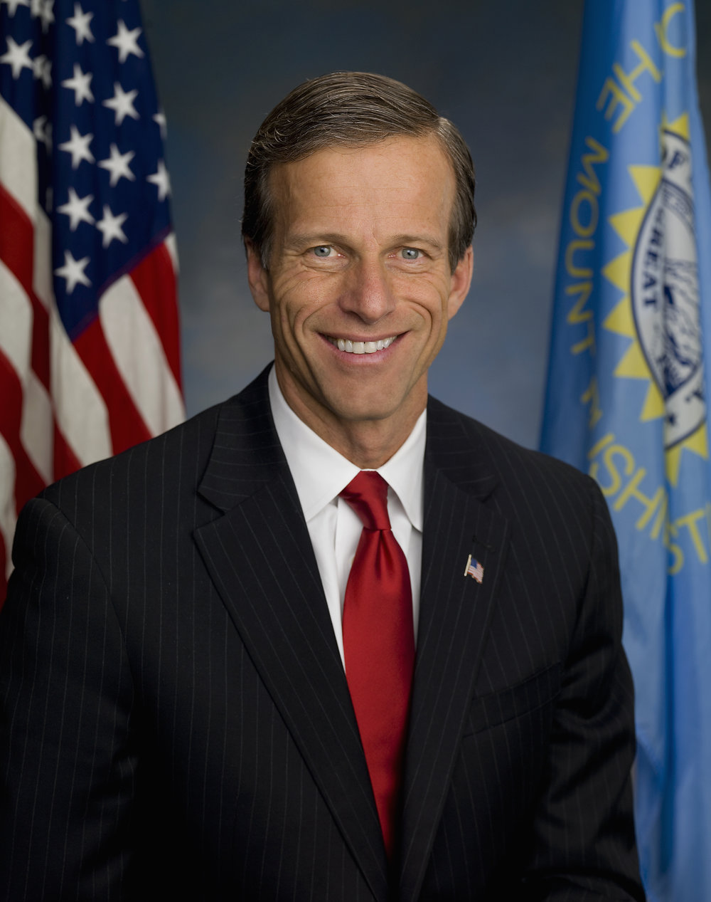 Official United States Senate photograph of Sen. John Thune (R-South Dakota). Photograph by John Klemmer. Thune, the third-ranking Republican, doesn't buy the notion that South Dakotans would be adversely affected by the Senate health care bill.