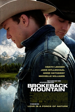 """The iconic """"Brokeback Mountain"""" poster was once spun into a New Yorker cover featuring President George W. Bush and his vice president, Dick Cheney. But can't you just see Vladimir Putin and Donald Trump in the Heath Ledger and Jake Gyllenhaal roles respectively?"""