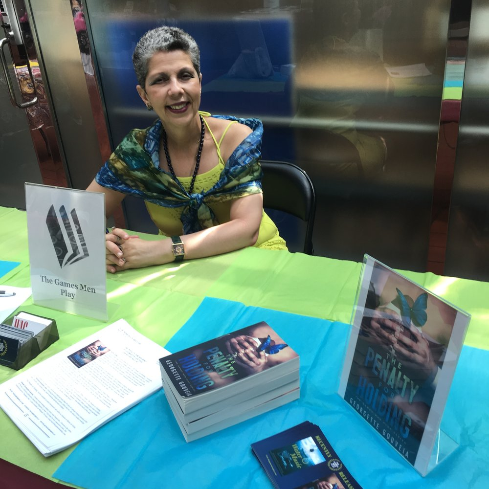 At OutWrite 2017, the seventh annual LGBT Book Festival.