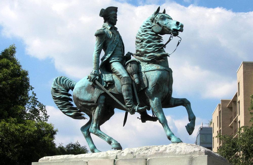 Equestrian statue of George Washington, Washington Circle, Washington D.C.
