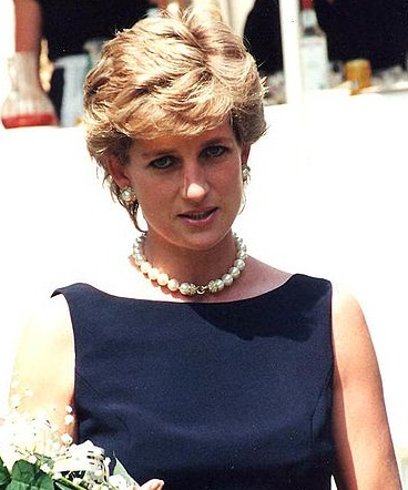 Diana, Princess of Wales in 1995. Photograph by Nick Parfjonov.