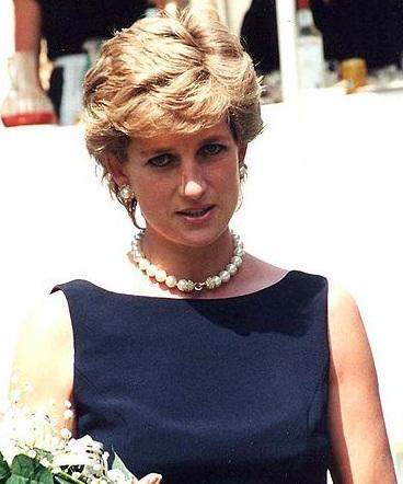 Diana, Princess of Wales in 1995. Photograph by Nick Parfjonov.