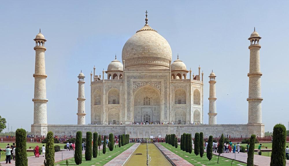 The Taj Mahal, one of UNESCO's World Heritage Sites. Photograph by Muhammad Madhi Karim.
