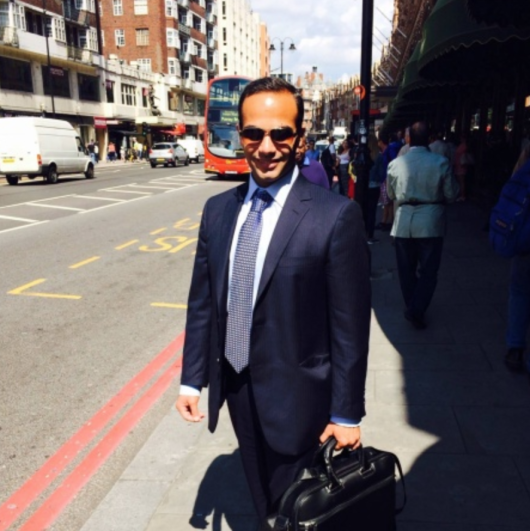 George Papadopoulos   wanted to be center of attention. Now he is – in the worst possible way.