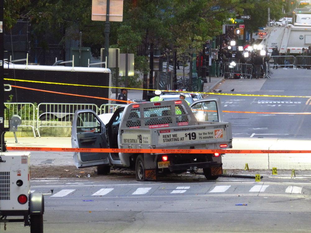 Instrument of terror – Sayfullo Saipov's Home Depot truck.