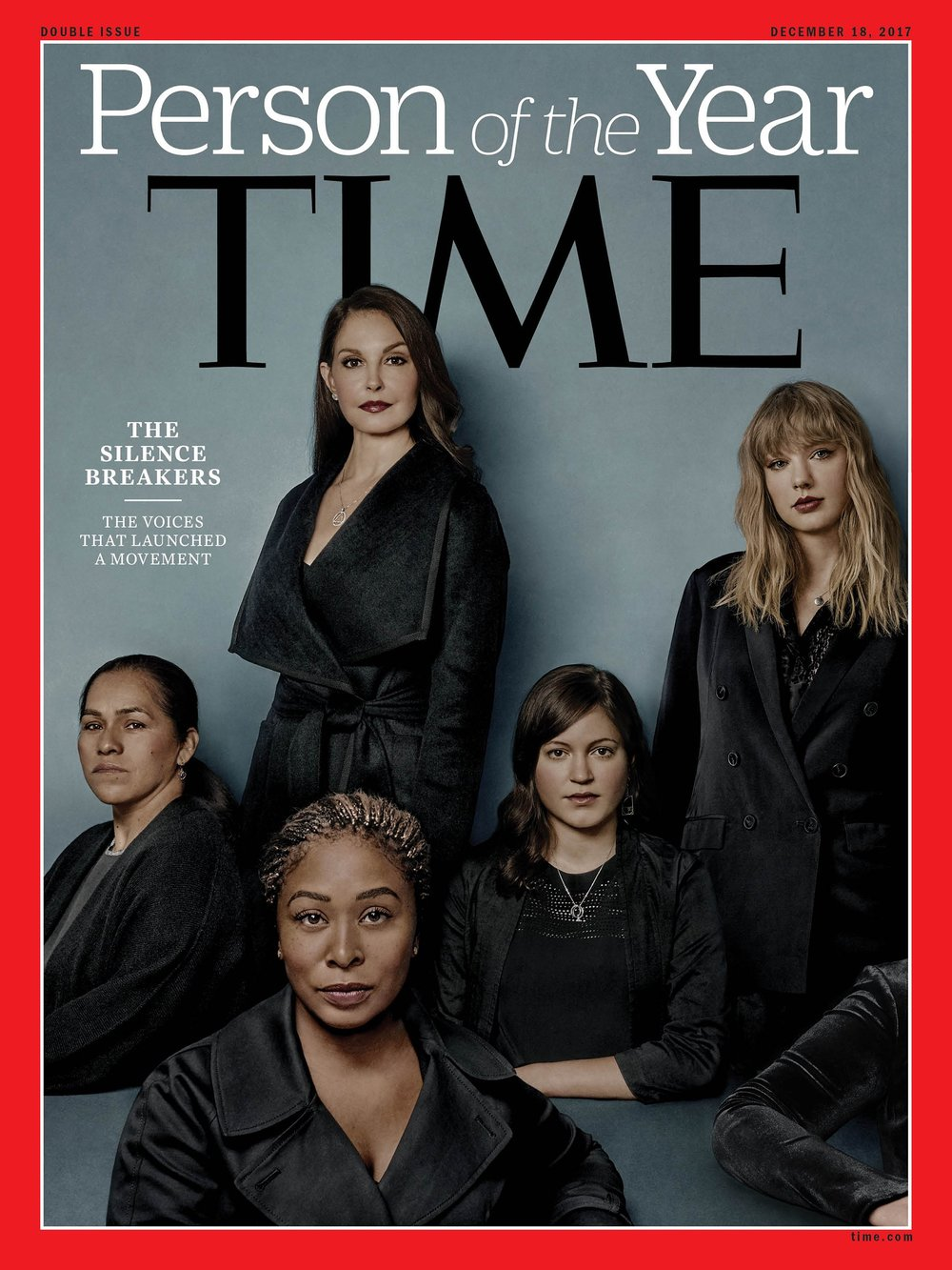 Time's Persons of the Year are the sexual harassment whistleblowers and Amen to that. Image via  TIME .