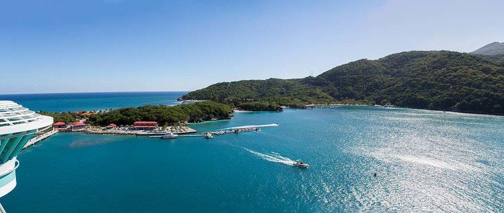 Labadee, Haiti. Photograph by Brian Holland.