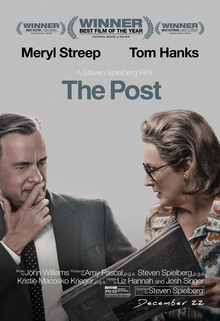 """The Post"" resonates with a story of freedom of the press and an undaunted woman."