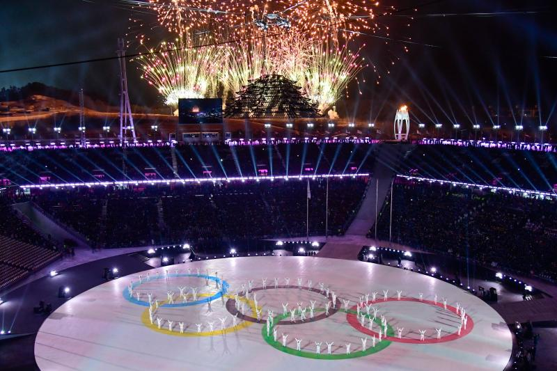 PyeongChang closing ceremonies. Getty images
