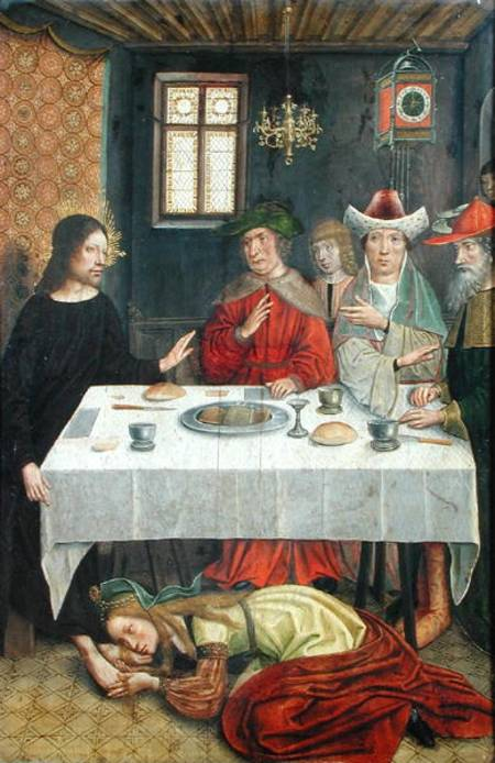 """The Meal at the House of Simon the Pharisee,"" 15th century French"