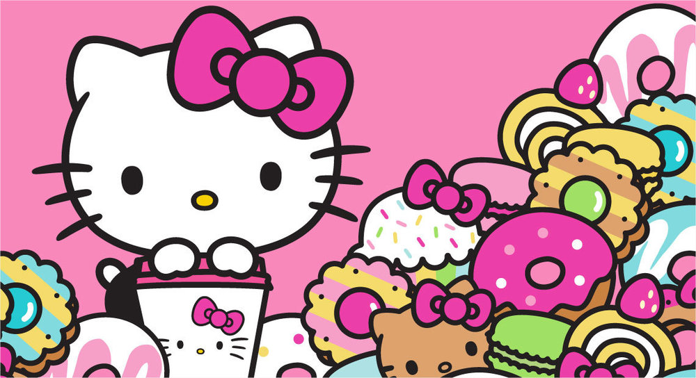 And now a word form the Land of the Rising Sun and  Sanrio's  Hello Kitty.