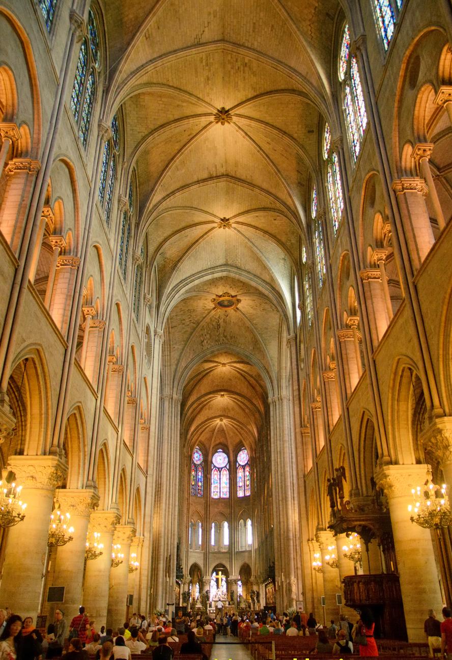Notre-Dame de Paris as seen on May 24, 2012. Photograph by Peter K. Burian.