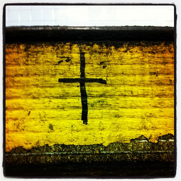**every time I leave my train station I feel blessed** —©2012 (Taken with instagram)