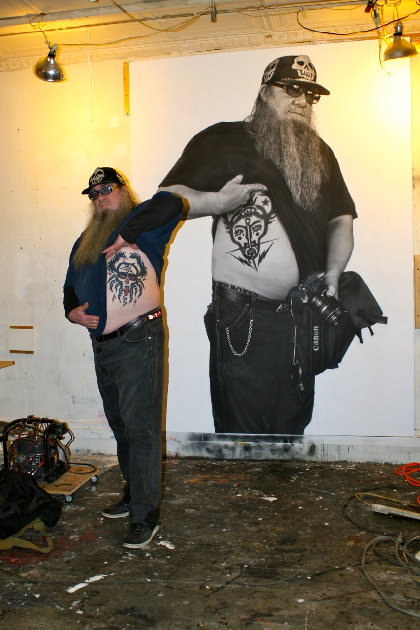 Clayton Patterson by Curt Hoppe. Go see it:  http://www.curthoppe.com/  May 28