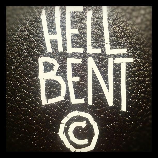 * Hell Bent * ©2011 (Taken with  instagram )