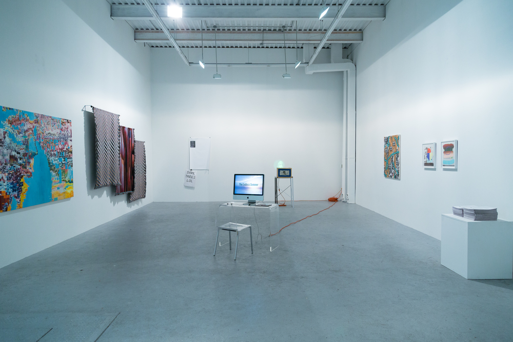 YOU ARE HERE: Installation View