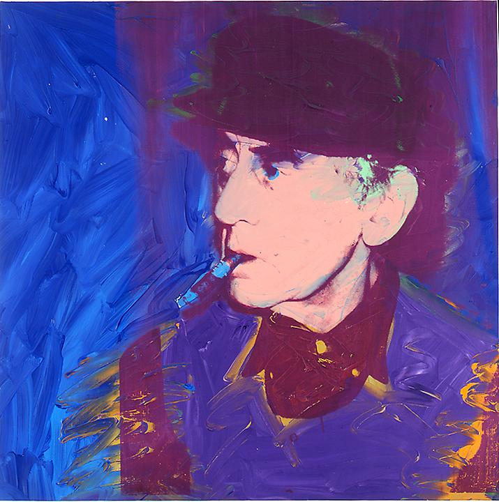 Man Ray by Andy Warhol, 1974