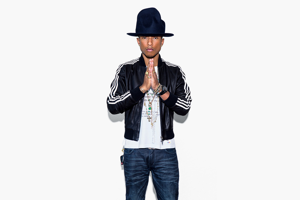 Pharrell + Adidas
