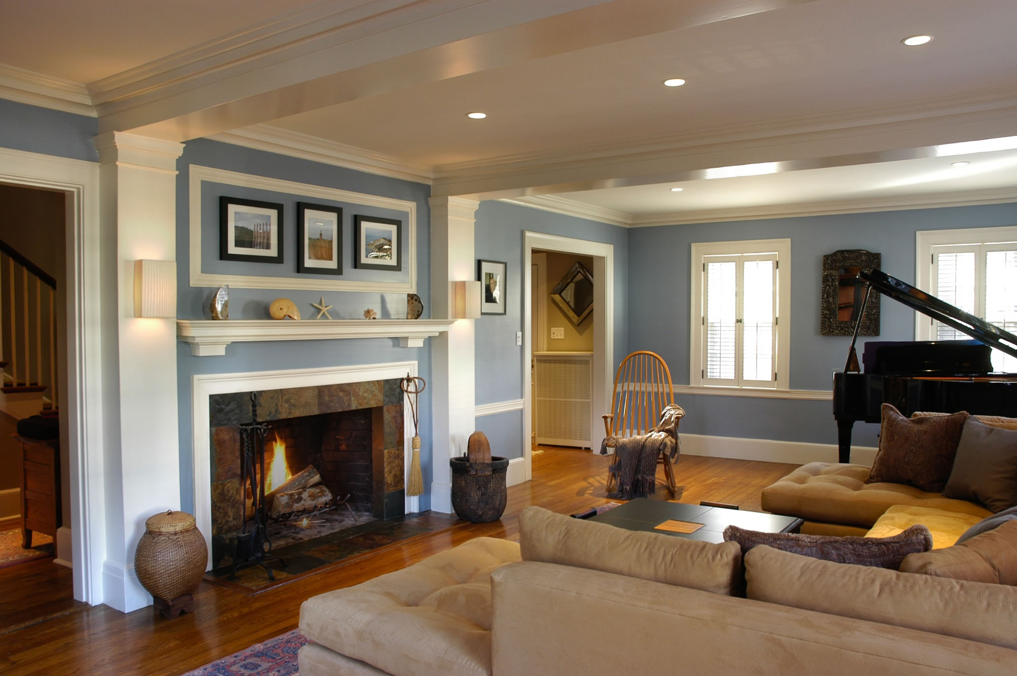 Traditional Living Room With Modern Twist work — welcome to woodcliffe