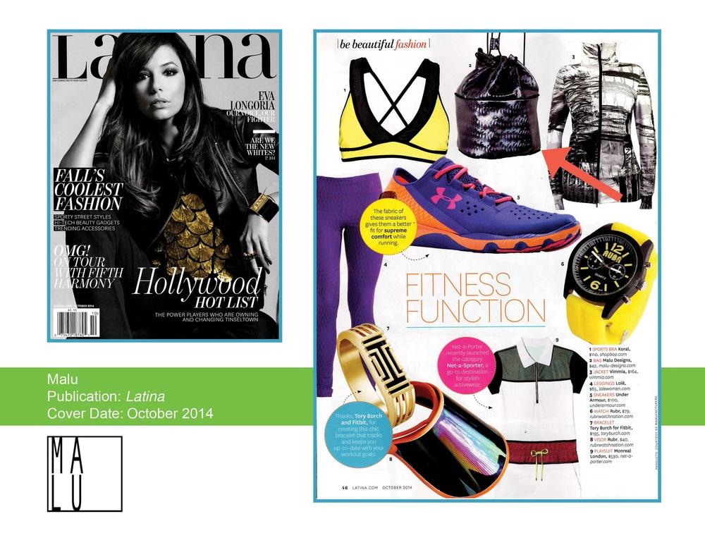 Latina Magazine / October 14'