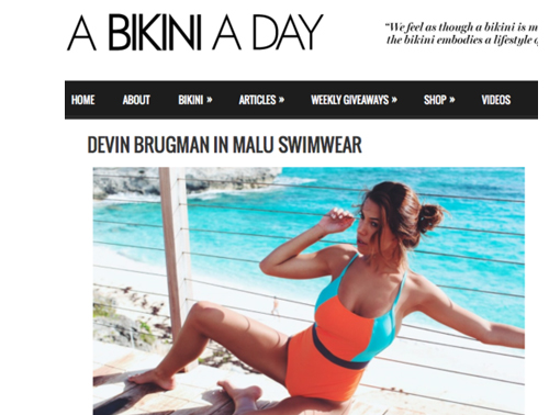 A bikini a Day / Dec 2014