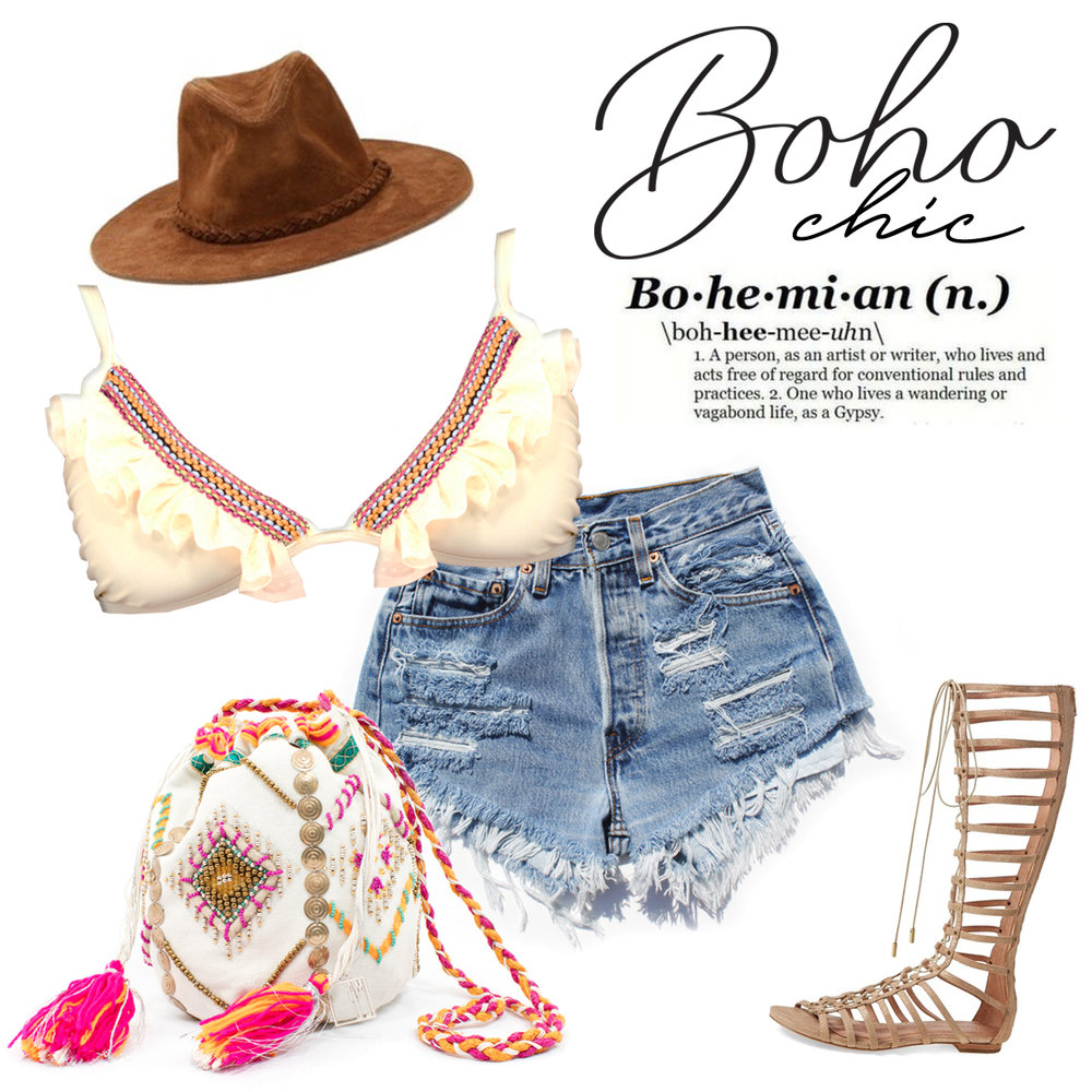 WHAT'S YOUR STYLE FOR COACHELLA?    Here's a boho chic style that might fit perfectly for your musical days!    Read More