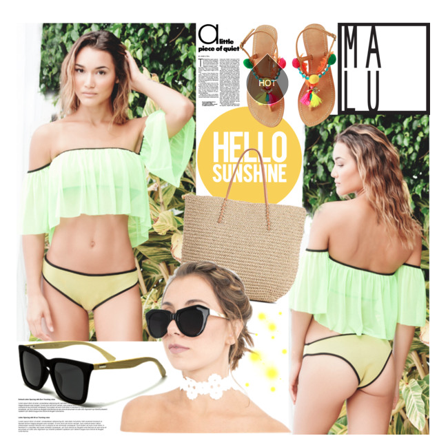 GOING AWAY FOR THE WEEKEND?   This is a MUST HAVE bikini set along with our pair of sunglasses!    Read More