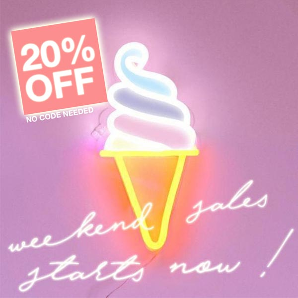 WEEKEND SALE STARTS NOW!   Get 20% OFF or more and enjoy your shopping day   Read More
