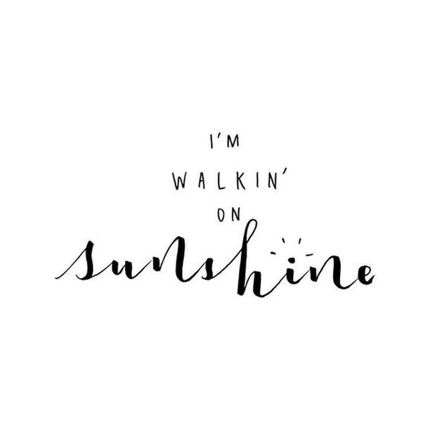 Keep on walking ☀️