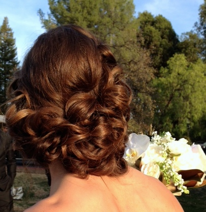 Elegant Bridal Updo...