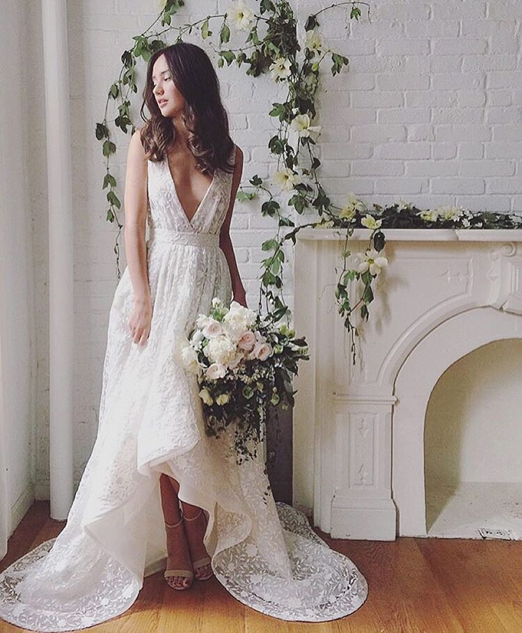 Such a pretty shot of the Nora Gown 💕💕💕 behind the scenes with @kaylabarkerphoto and @bowsandarrowsflowers in this Brooklyn home…#tatyanamerenyuk #fashion #style #stylish #cute #beautiful #instagood #pretty #design #dress #wedding #weddingdress #bohochick #boho #whitedress #weddinginsporation #bohobride #lace #bohemianwedding #bohemian #bride #nycdesigner #brooklynbride #bridalinspiration #bridaldress #whimsy
