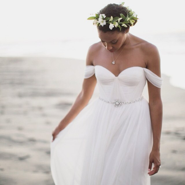 My Beautiful #realbride @codieco 💗💗💗 you're a dreamboat;) is up on @munaluchibride take a look at the gorgeous wedding in Costa Rica… Photos by the lovely @knstinnett Just a few more days and some lovely ladies from Texas will be visiting me in Brooklyn! Cant wait! 💗💗💗 #tatyanamerenyuk #tatyanamerenyukbridal #whimsy #fashion #style #stylish #cute #tatyanamerenyukbridal #hair #beauty #beautiful #pretty #design #bridaldress #dress #wedding #weddingdress #bohochick #boho #whitedress #weddinginsporation #lace #bride #nycdesigner #brooklyndesigner #bridal #brooklynbride #bridalfashion #boho #bridalinspiration #beachwedding