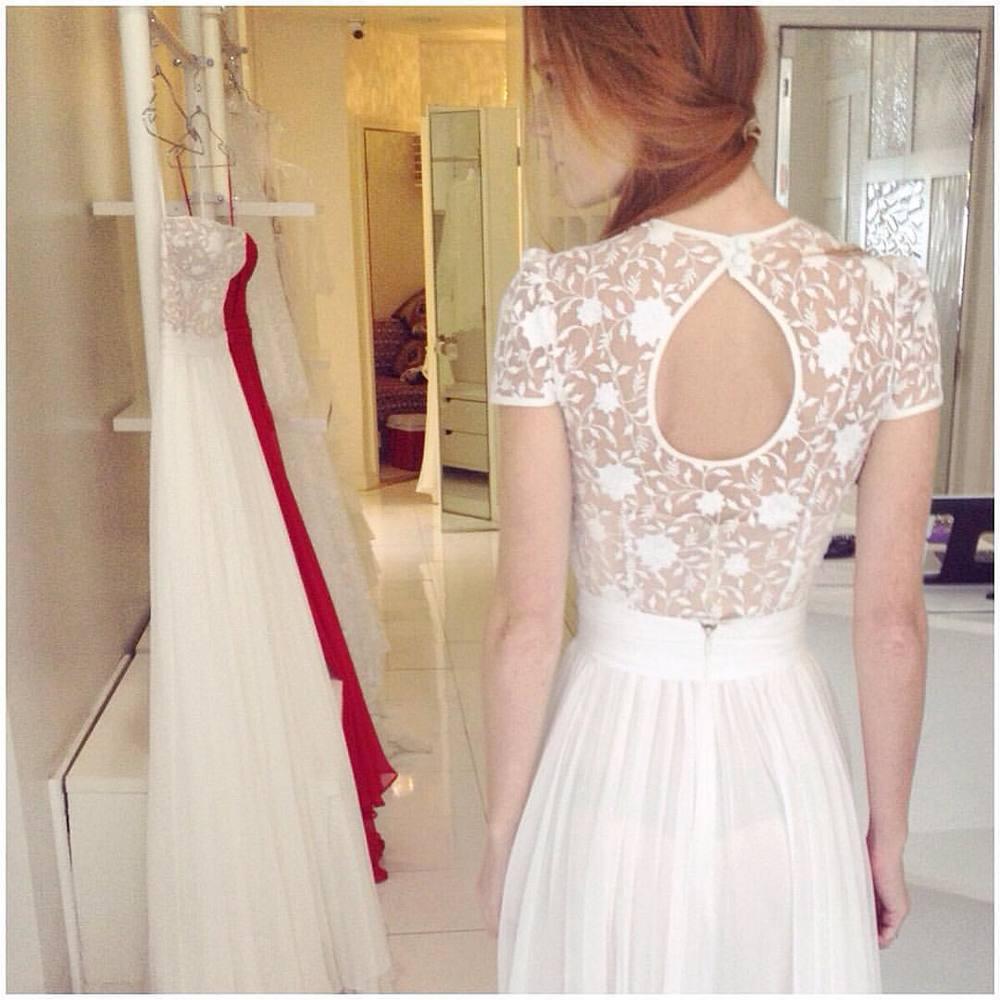 Love some pretty keyhole backs 💗💗💗night…#tatyanamerenyuk #tatyanamerenyukbridal #whimsy #fashion #style #stylish #cute #tatyanamerenyukbridal #hair #beauty #beautiful #pretty #design #bridaldress #dress #wedding #weddingdress #bohochick #boho #whitedress #weddinginsporation #lace #о#bride #nycdesigner #brooklyndesigner #bridal #brooklynbride
