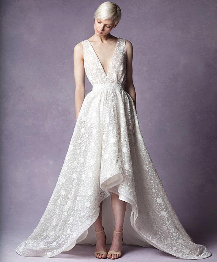 "Meet the gorgeous ""Nora"" Gown 💗💗💗 1st look #bridalmarket this Friday LES 💌 info@tatyanamerenyuk.com for more info, xoxo #tatyanamerenyuk #tatyanamerenyukbridal #fashion #style #stylish #cute #tatyanamerenyukbridal #hair #beauty #beautiful #pretty #design #bridaldress #dress #wedding #weddingdress #bohochick #boho #whitedress #weddinginsporation #lace #о#bride #nycdesigner #brooklyndesigner #bridal #brooklynbride"