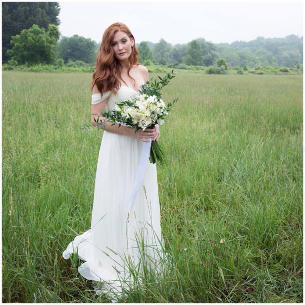 My goodness, how Gorgeous is my #realbride @samantharuggiero 🍃🍂🍃🍂🍁 that hair, the flowers, the scenery, all on point on this misty rainy day ;) #tatyanamerenyuk #tatyanamerenyukbridal #fashion #style #stylish #cute #tatyanamerenyukbridal #hair #beauty #beautiful #pretty #design #bridaldress #dress #wedding #weddingdress #bohochick #boho #whitedress #weddinginsporation #lace #bohemianwedding #bride #nycdesigner #brooklyndesigner #bridal #brooklynbride