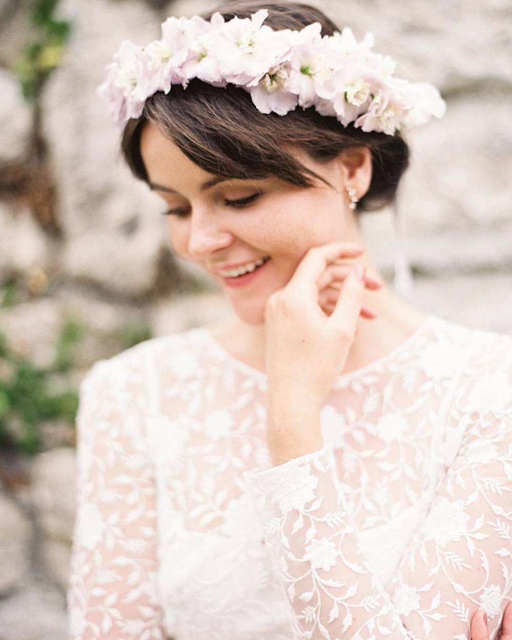 Awww … Isn't she lovely 🌸🌸🌸 flowers are the best accessory! @bowsandarrowsflowers & @kaylabarkerphoto 😘 #tatyanamerenyuk #tatyanamerenyukbridal #fashion #style #stylish #cute #tatyanamerenyukbridal #hair #beauty #beautiful #pretty #design #bridaldress #dress #wedding #weddingdress #bohochick #boho #whitedress #weddinginsporation #lace #bohemianwedding #bride #nycdesigner #brooklyndesigner #bridal #brooklynbride